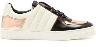 Proenza Schouler Colour-block low-top leather trainers