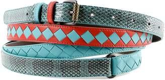 Bottega Veneta Leather Belts