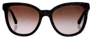 Dolce & Gabbana Leopard Gradient Sunglasses
