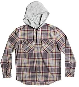 Quiksilver Men's Hooded Tang Flannel Shirt
