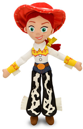 Disney Jessie Plush Doll - Toy Story - Medium - 16''