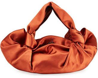 The Row Ascot Two Satin Top-Handle Bag