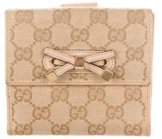 Gucci GG Princy French Flap Wallet