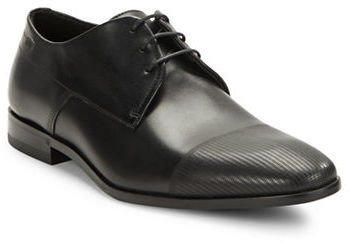 Hugo Boss Hugo Boss Textured Leather Oxfords