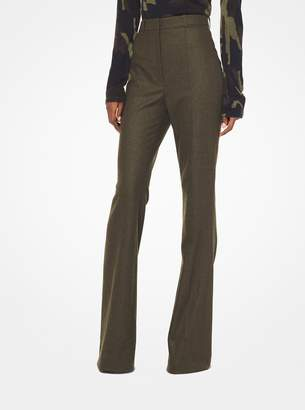 Michael Kors Flannel Flared Trousers
