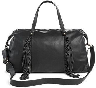 Mossimo Supply Co Women's Weekender Faux Leather Handbag Black - Mossimo Supply Co. $34.99 thestylecure.com
