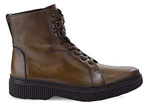 Tod's Men's Gomminis Leather Combat Boots