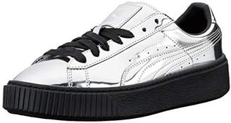 Puma Women's Basket Platform Metallic