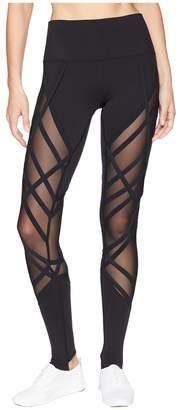 Alo High-Waist Wrapped Stirrup Leggings Women's Casual Pants