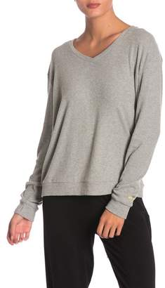 Peace Love World Catherine Ribbed Comfy Top