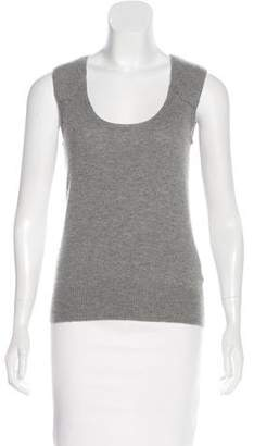 Cacharel Sleeveless Cashmere Sweater