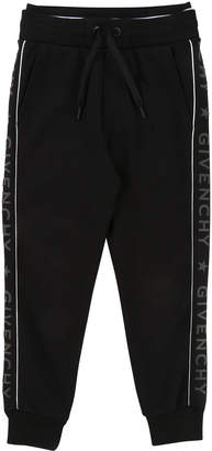 Givenchy Jogging Pants w/ Logo Sides, Size 6-10