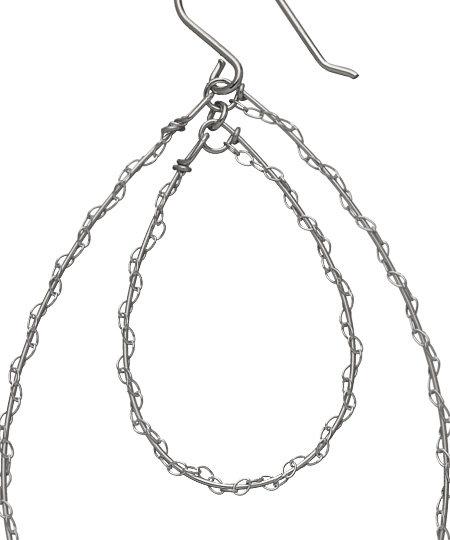 Gorjana Silver Lace Hoops