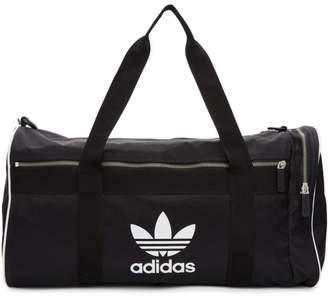 a0f908e4286 ... adidas Black Large Adicolor Duffle Bag