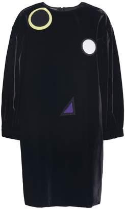 Emporio Armani Patchwork Velvet Tunic