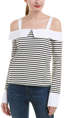 ENGLISH FACTORY Off-The-Shoulder Top