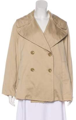 Nili Lotan Double-Breasted Notch-Lapel Jacket
