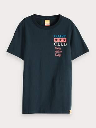Scotch & Soda Amalfi Text T-Shirt