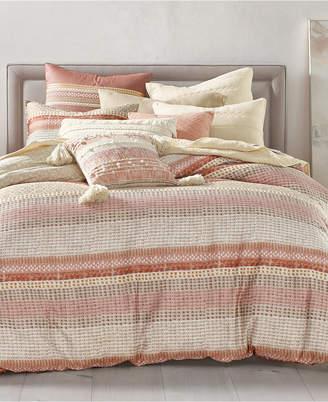 Lucky Brand Woodblock Stripe 3-Pc. King Comforter Set
