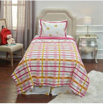 Riztex Usa Punk Rock Animal Plaid Full/Queen 3 Piece Comforter Set Bedding