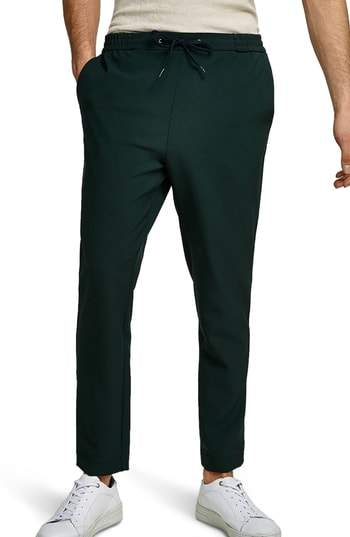 Slim Cropped Track Pants