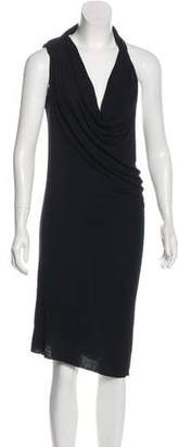 Rick Owens Halter Top Evening Dress