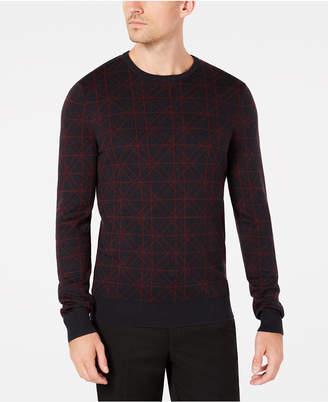 Ryan Seacrest Distinction Men's Geometric Sweater
