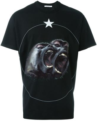 Givenchy Monkey Brothers T-shirt $555 thestylecure.com
