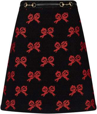 Gucci Tweed Skirt - ShopStyle 6b90d7a476