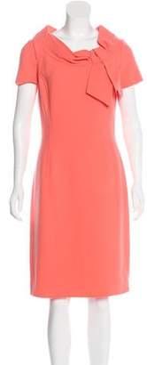 Oscar de la Renta Wool Midi Dress w/ Tags
