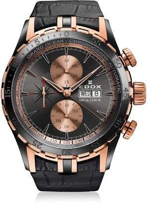 Edox Men's 01121 357RN GIR Grand Ocean Analog Display Swiss Automatic Watch
