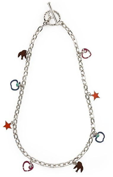Marc by Marc Jacobs Mini Charm Necklace