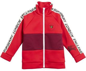 Burberry racing style track top