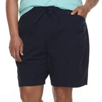 Croft & Barrow Plus Size Drawstring Shorts