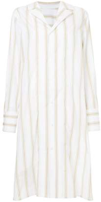 Marni striped shirt dress