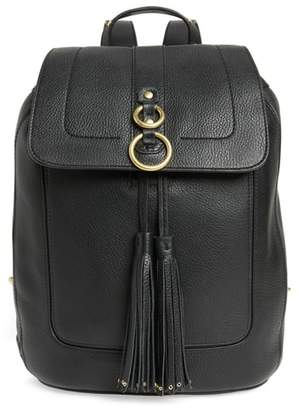 Cole Haan Cassidy RFID Pebbled Leather Backpack