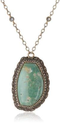 "Barse Kismet"" and Marcasite Chain Necklace"