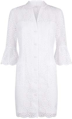 Sandro Broderie Anglaise Dress