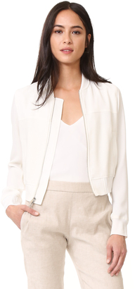 Theory Daryette B. Bomber Jacket $455 thestylecure.com