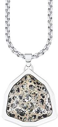 S'Oliver 525688 Women's Chain with Pendant Stainless Steel Glass Multi-Coloured Crystal Rose Patina