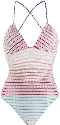 Missoni Mare embroidered one-piece