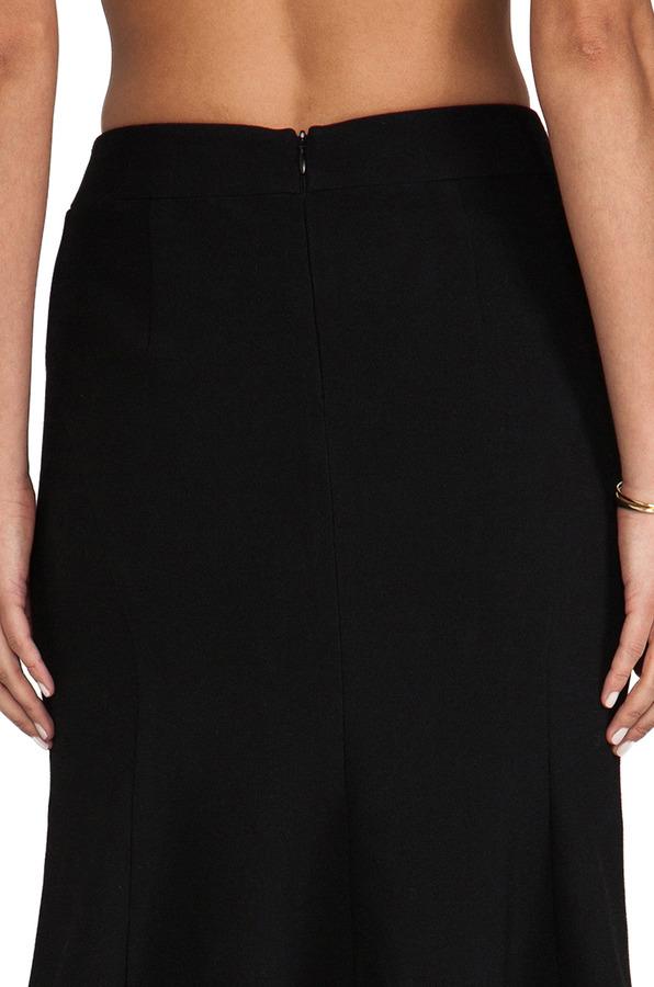 Nanette Lepore Ultra Ray Crepe Gamma Skirt
