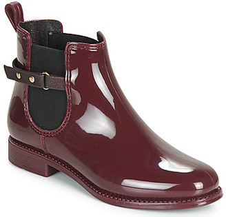 BeOnly Be Only MILA women's Wellington Boots in Red