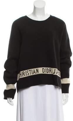 Christian Dior 2018 J'Adior Sweater Black 2018 J'Adior Sweater
