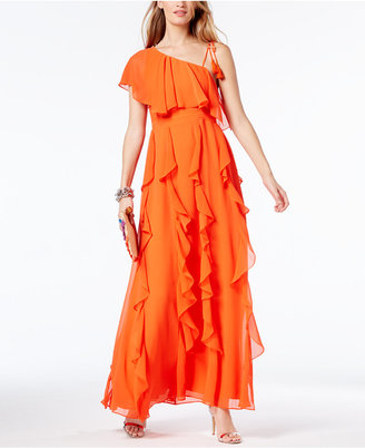 Inc International Concepts Popsicle One-Shoulder Maxi Dress, Created for Macy's $129.50 thestylecure.com