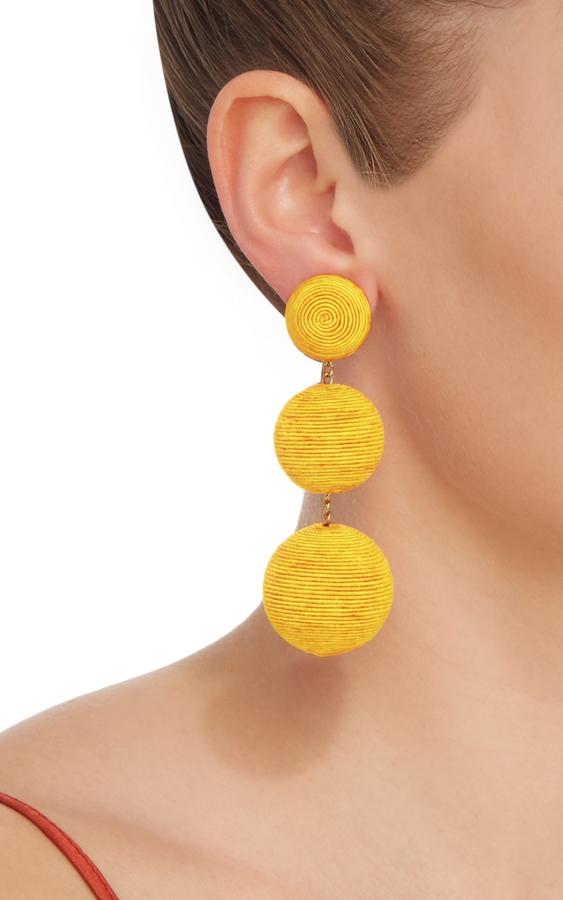 Rebecca de Ravenel Classic Silk Corded Clip Earrings 4