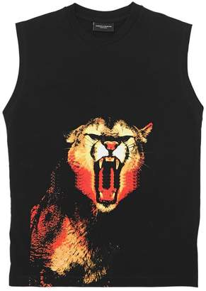 Marcelo Burlon County of Milan Puma Print Jersey Sleeveless T-Shirt