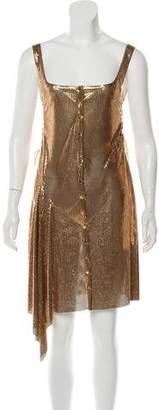 Paco Rabanne Chainmail Mini Dress