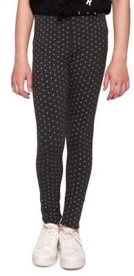 Dex Girl's Star-Printed Leggings