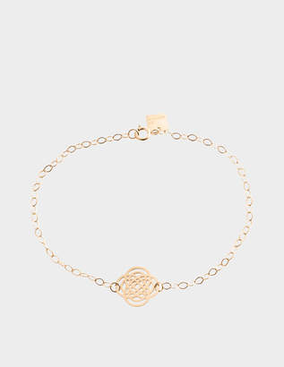 ginette_ny Purity 18-karat rose gold bracelet